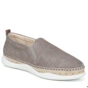 Sam Edelman Kassie Suede Sneakers Grey Leather